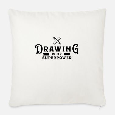 Drawing Drawing Drawing Draftsman drawing drawing - Sofa pillow with filling 45cm x 45cm