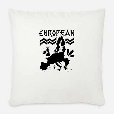Europe Europe Europe Europe Europe - Sofa pillow with filling 45cm x 45cm
