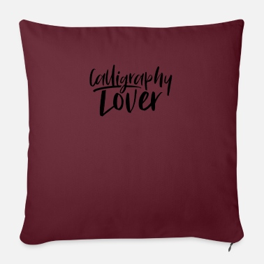 Calligraphy calligraphy - Sofa pillow with filling 45cm x 45cm