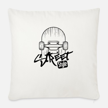 Longboard Skate street style - Sofa pillow with filling 45cm x 45cm