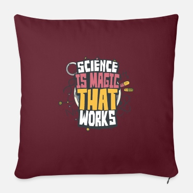 Perform Magic Science magic - Sofa pillow with filling 45cm x 45cm
