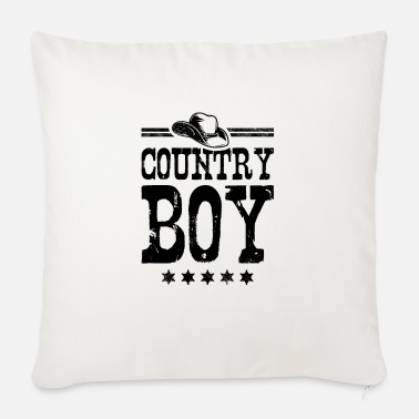 Country Country Boy - Sofapude med fyld 44 x 44 cm