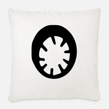 Wheel wheel - Sofa pillow with filling 45cm x 45cm