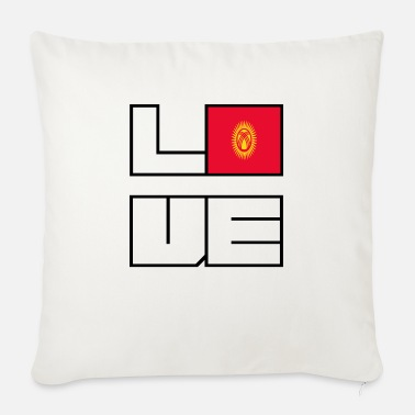 Love home roots Roots Kyrgyzstan - Sofa pillow with filling 45cm x 45cm