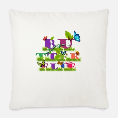 Ocation Butterflie - Sofa pillow with filling 45cm x 45cm