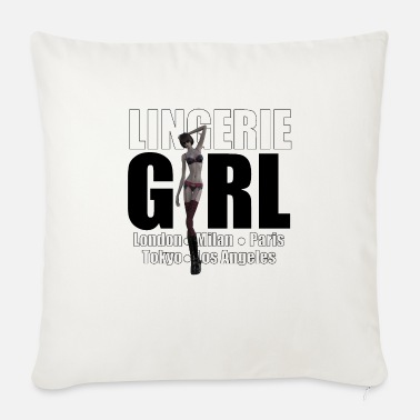 Trend Underwear The Fashionable Woman - Lingerie Girl - Sofa pillow with filling 45cm x 45cm