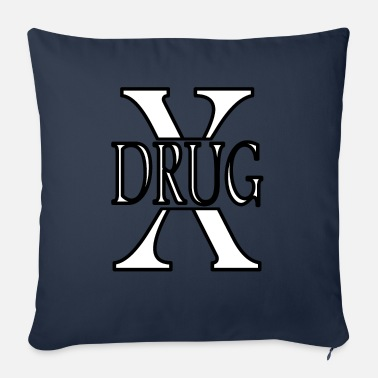 Drugs Stop drug no drug against drug - Sofa pillow with filling 45cm x 45cm