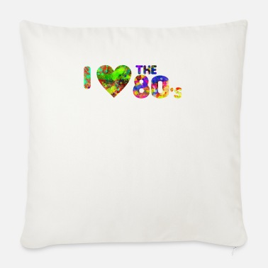 I Dance Old School I love the 80's - dance - old school - 1980 - Sofa pillow with filling 45cm x 45cm
