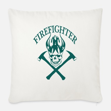 Fire Fighter fire fighter - Sofa pillow with filling 45cm x 45cm