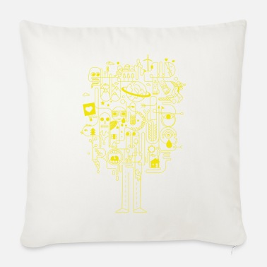 Creative Creative creativity - Sofa pillow with filling 45cm x 45cm