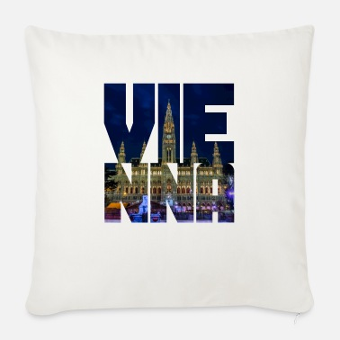 Town Hall Vienna town hall - Sofa pillow with filling 45cm x 45cm