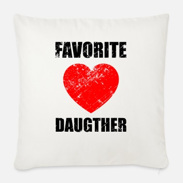 Daughter Daughters, love, daughter, daughter-in-law, darling - Sofa pillow with filling 45cm x 45cm