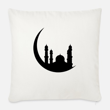 Islam Mosque Half Moon Orient - Sofa pillow with filling 45cm x 45cm