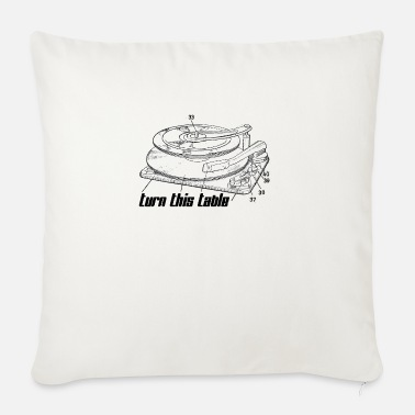 Turn Table Turn This Table On! - Sofa pillow with filling 45cm x 45cm