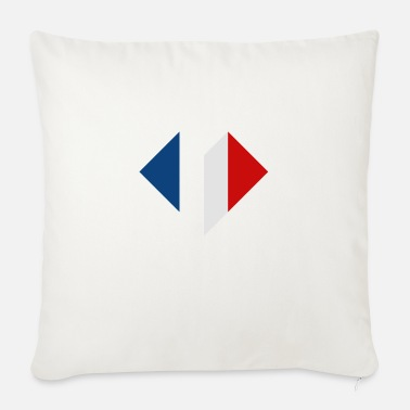 France in the heart - Sofa pillow with filling 45cm x 45cm