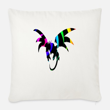Dragon Bow Dragon Loop - Sofa pillow with filling 45cm x 45cm