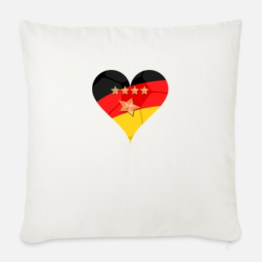 Germany Hertz 4 + 1 star - Sofa pillow with filling 45cm x 45cm