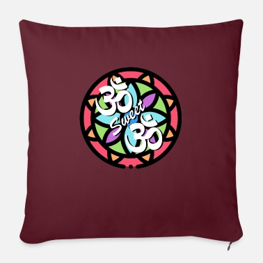 Om Om sweet om - Sofa pillow with filling 45cm x 45cm