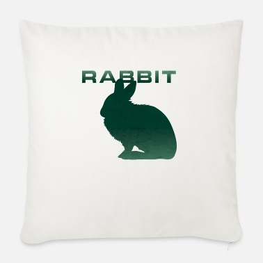 Renner Bunny Renner Runner Rabbit - Sofa pillow with filling 45cm x 45cm