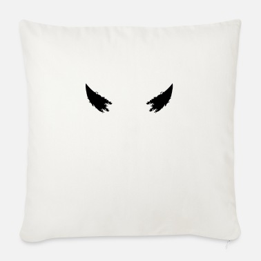 Horns Devil horns horns - Sofa pillow with filling 45cm x 45cm