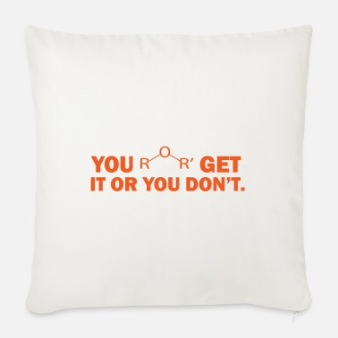 Formula You get it or you don't chemistry gift chemistry - Sofa pillow with filling 45cm x 45cm