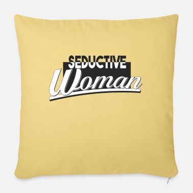 seductive woman - Sofa pillow with filling 45cm x 45cm