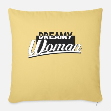 dreamy woman - Sofa pillow with filling 45cm x 45cm