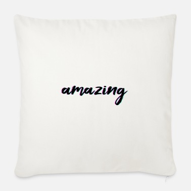 Glitch Effect amazing - amazing (Glitch Effect) - Sofa pillow with filling 45cm x 45cm