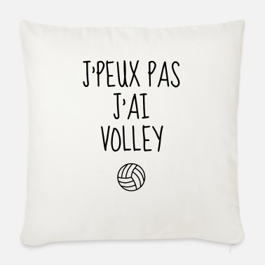 Volley-ball Volleyball - Volley Ball - Volley-Ball - Sport - Cojín de sofá con relleno 44 x 44 cm
