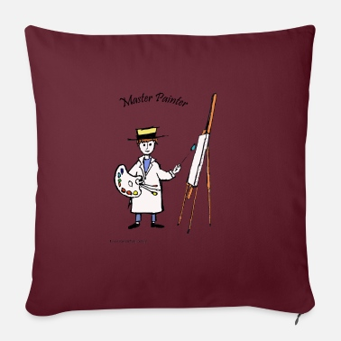 Master Painter MASTER PAINTER - Sofa pillow with filling 45cm x 45cm