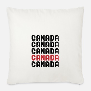 Canada Canada Canada - Sofa pillow with filling 45cm x 45cm