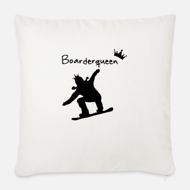 Boarders Boarder Queen - Sofa pillow with filling 45cm x 45cm