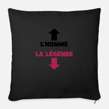 Couille The Man, The Legend :) - Sofa pillow with filling 45cm x 45cm