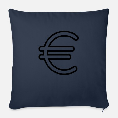 Euro Sign Euro sign - Sofa pillow with filling 45cm x 45cm