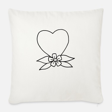 Tradition Heart traditional - Sofa pillow with filling 45cm x 45cm