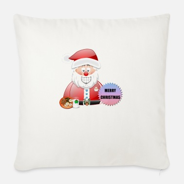 Scene Underwear Santa 16 Merry Christmas - Sofa pillow with filling 45cm x 45cm