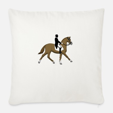 Dressage dressage - Sofa pillow with filling 45cm x 45cm