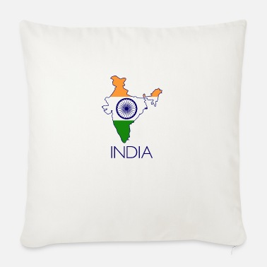 India india - Sofa pillow with filling 45cm x 45cm