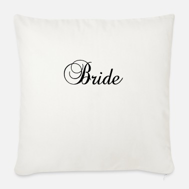 BRIDE JGA BACHELOR PARTY BRIDE MARRIAGE MARRIAGE - Sofa pillow with filling 45cm x 45cm