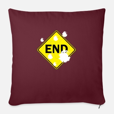 End Game END - Sofa pillow with filling 45cm x 45cm