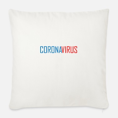 Corona virus - Sofa pillow with filling 45cm x 45cm