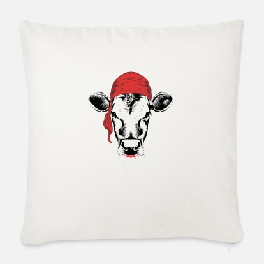 Pirate Cloth Pirate cow - Sofa pillow with filling 45cm x 45cm