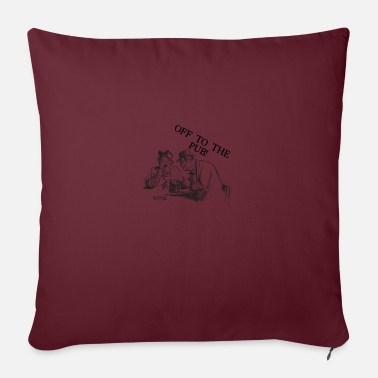 Pub The Pub - Sofa pillow with filling 45cm x 45cm