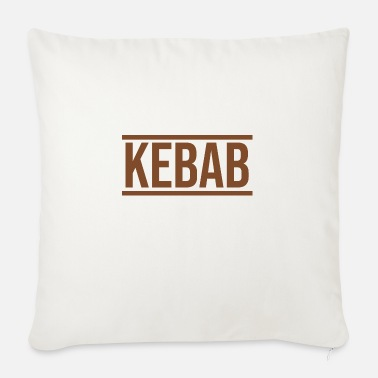 Fast Food Kebab fast food fast food - Sofa pillow with filling 45cm x 45cm