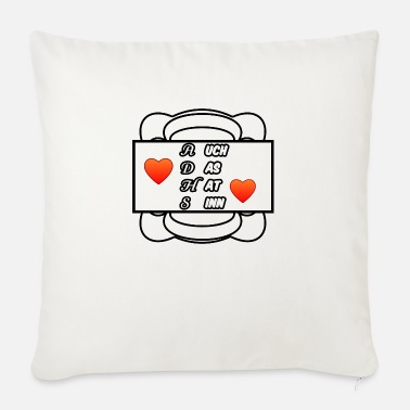 ADHD ADD chaos medicine saying - Sofa pillow with filling 45cm x 45cm