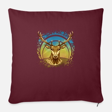 Animals Deer - Sofa pillow with filling 45cm x 45cm