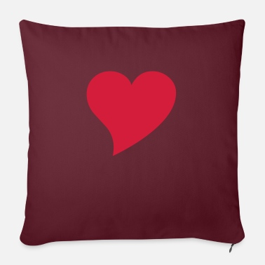 Herz herz - Sofa pillow with filling 45cm x 45cm