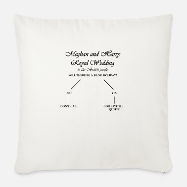 Bank Holiday HT Royal Wedding Bank Holiday - Sofa pillow with filling 45cm x 45cm