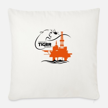 Oil Rig Platform Oil Rig Platform North Sea Aberdeen - Sofa pillow with filling 45cm x 45cm