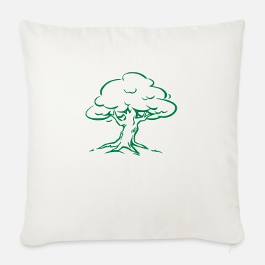 Tree Forest Nature - Sofa pillow with filling 45cm x 45cm